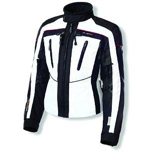 Olympia Expedition Womens Textile Jacket Ivory WhiteBlack SM