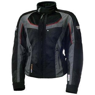 Olympia Switchback 2 Air Womens Textile Jacket PewterGrayBlack MD