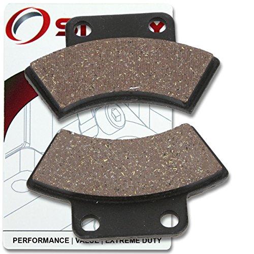 Sixity Rear Ceramic Brake Pads 1995-1998 Polaris Magnum 425 2x4 Set Full Kit