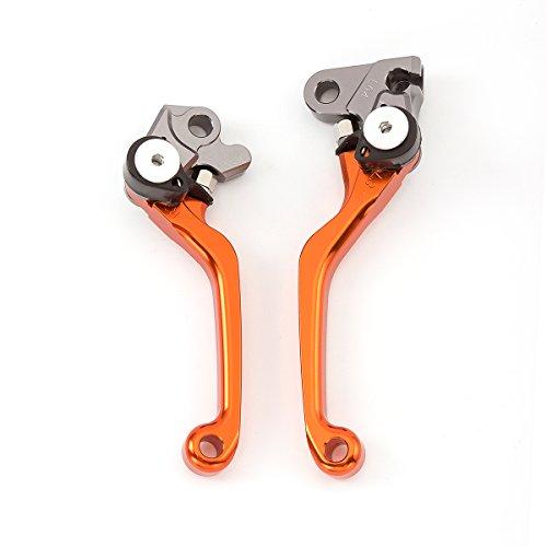 FXCNC Pivot Dirtbike CNC Brake Clutch Levers For KTM 250SX250XC 2006-2013 400EXC 2009-2011 530EXCEXC-RXCR-WXC-W 2008-2011 450XCR-W SIX DAYS 2008-2013…