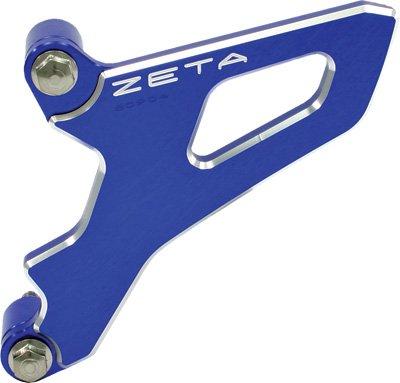 Zeta Aluminum Front Sprocket Cover WR250RX Blue