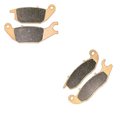 CNBK Sintering Brake Shoe Pads Set fit HONDA Street Bike CBR125 CBR 125 cc 125cc R4 2004 2005 2006 2007 2008 2009 2010 2011 2012 2013 2014 2015 04 05 06 07 08 09 10 11 12 13 14 15 4 Pads