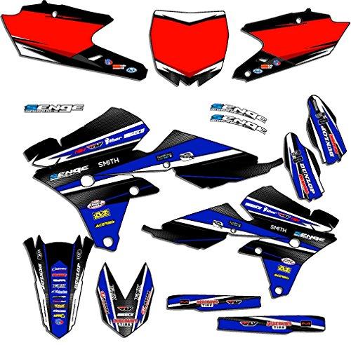 Senge Graphics 1998-2002 Yamaha WR 250F426F Vigor Blue Graphics Kit