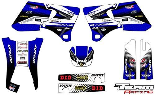 Team Racing Graphics kit for 1998-2002 Yamaha WR 250F426F ANALOG Base kit