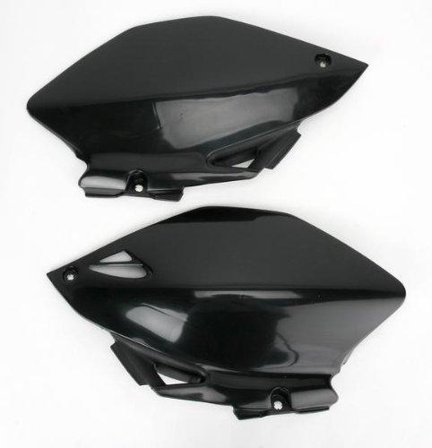 Ufo Plastic s s Side Panels Black for Yamaha WR 250F 450F 07-09