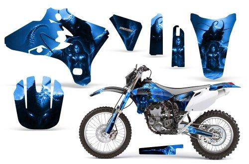 CreatorX Yamaha Yz250F Yz450F Wr250 Wr450 Graphics Kit Spell Blue