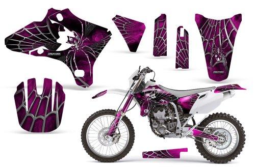 CreatorX Yamaha Yz250F Yz450F Wr250 Wr450 Graphics Kit SpiderX Pink