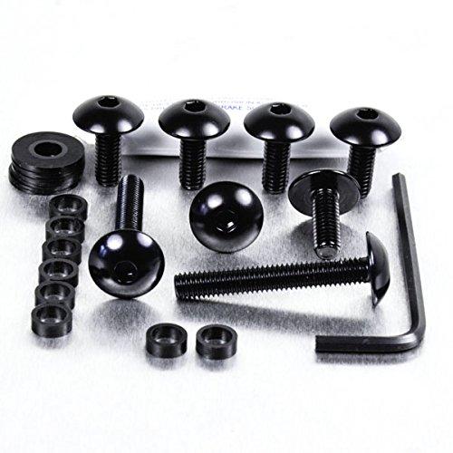Aluminium Body Panel Kit Honda XR400 Black