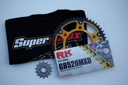 Supersprox Stealth Chain and Sprocket Set for Suzuki RMZ 450 2005-2007