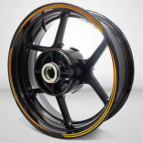 Vector Outer Rim Liner Stripe for Honda CBR 250RR Fluorescent Orange