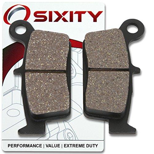 Sixity Rear Ceramic Brake Pads 2001 Yamaha WR 400 FN Set Full Kit Complete