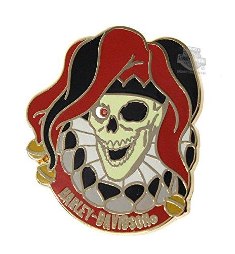 Harley-Davidson Jester Skull H-D Pin