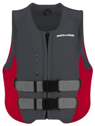 BRP Sea-Doo Ladies Neoprene Airflow PFD Life Jacket Vest Large Grey