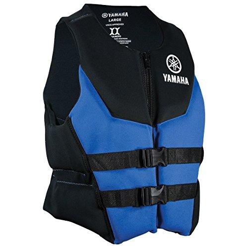 Yamaha Waverunner Premium Neoprene Life Jacket Vest PFD Blue