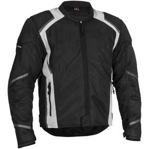 Firstgear Mesh-Tex Jacket Mens - Black Size Large 51-5761