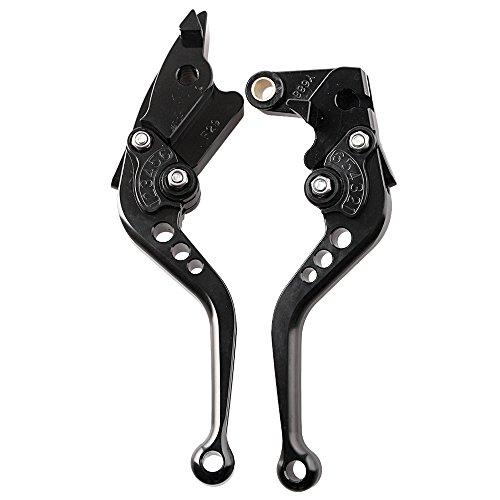 GZYF Pair Adjustable Motorcycle Short Brake Clutch Levers Set fit HONDA 2003 2004 2005 2006 CBR 600RR F5 2002 2003 YZF R1 2002 2003 CBR 954RR