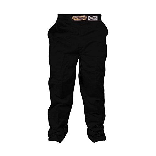 Speedway Motors Black Racing Pants Only SFI-1 XL