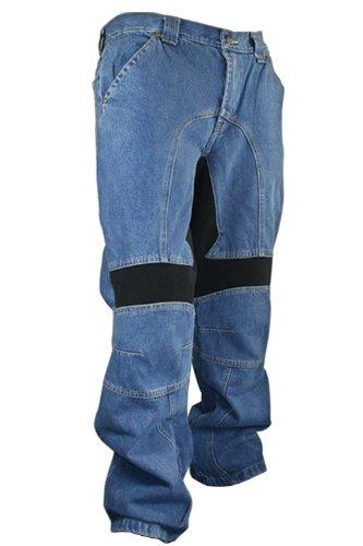 Xelement 055025 Classic Fit Mens Denim Motorcycle Racing Pants - 46