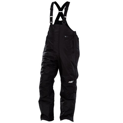 Castle X CR2 Mens Snowmobile Bibs Black LRG Short