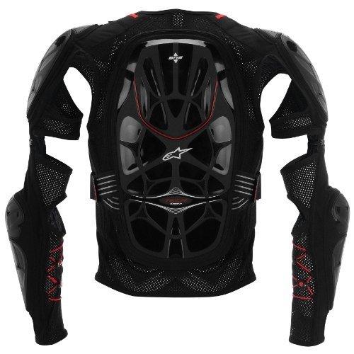 Alpinestars Bionic Tech Jacket Mens Protector Off-Road Motorcycle Body Armor - BlackRed  Medium