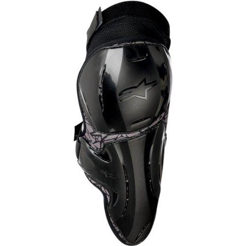 Alpinestars Vapor Adult Knee Guard Off-Road Motorcycle Body Armor - Black  LargeX-Large