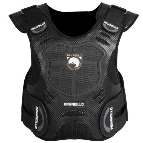 Fieldsheer Armadillo Adult Vest Protector Street Motorcycle Body Armor - Black  2X-Large