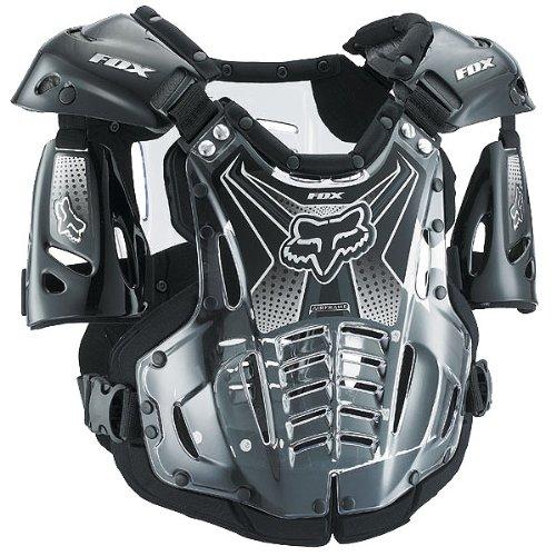 Fox Racing Airframe Youth Boys Roost Deflector MXOff-RoadDirt Bike Motorcycle Body Armor - Black  Small