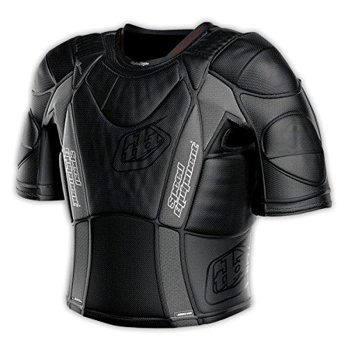 Troy Lee Designs UPS 5850 HW Short-Sleeve Shirt Adult Undergarment Off-Road Motorcycle Body Armor - Black  Medium