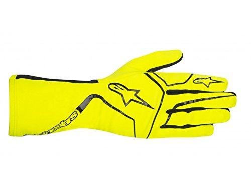 Alpinestars 3552017-551-M Tech 1-K Race Gloves Yellow Fluorescent Size M