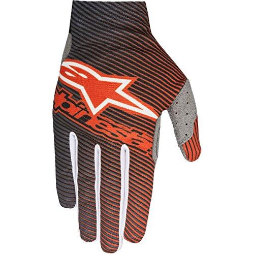 Alpinestars S8 Dune-1 Mens Off-Road Motorcycle Gloves - OrangeBlue  Medium