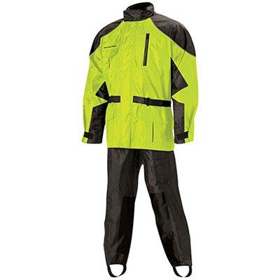 Nelson Rigg AS-3000 BlackHi-Viz Yellow Aston 2-Piece Rain Suit - X-Large