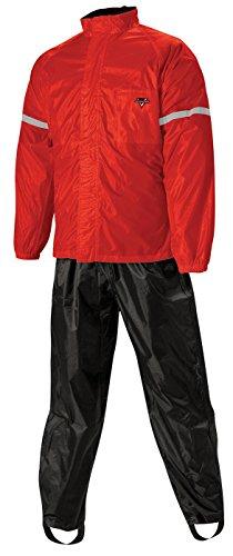 Nelson-Rigg Mens Weatherpro 2-Piece Rain Suit RedXX-Large