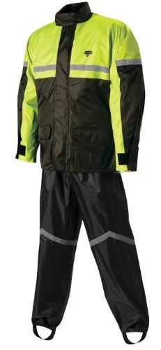 Nelson Rigg SR-6000 BlackHi-Viz Yellow Stormrider 2-Piece Rain Suit - X-Large