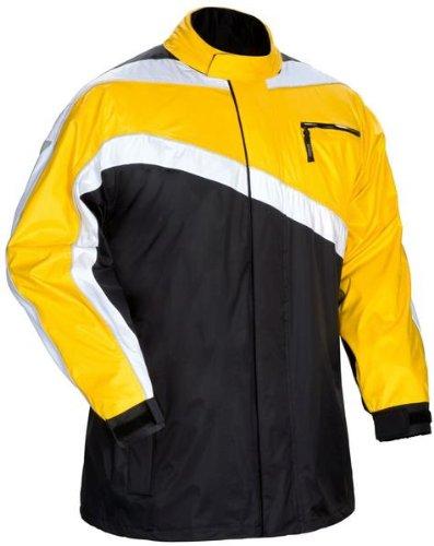 Tour Master Defender 2-Piece Rain Suit Large Yellow