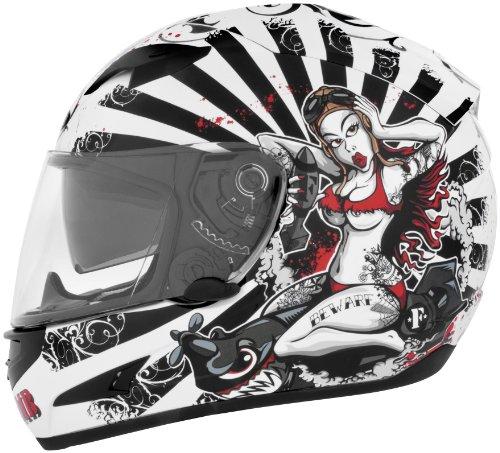 Cyber Helmets Leathal Threat Us-97 F-bomb Helmet , Helmet Type: Full-face Helmets, Helmet Category: Street, Distinct
