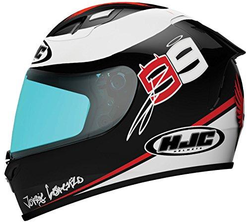 Hjc Fg-17 X-fuera Lorenzo Replica Full-face Motorcycle Helmet (mc-1, Medium)