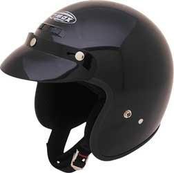 Gmax Youth Gm2y Open Face Helmet Black Small/medium