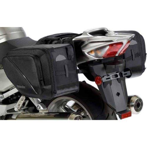 Tour Master Elite Motorcycle Saddlebag - Black  One Size