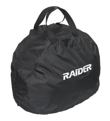 Raider Deluxe Motorcycle Durable Nylon Helmet Bag - Black