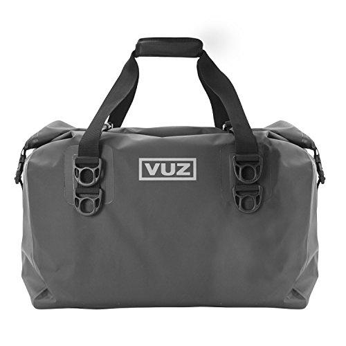 VUZ Moto Dry Duffle Tail Bag  100 Waterproof Motorcycle Luggage  45L