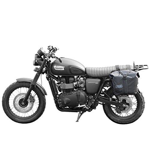 VUZ Moto Dry Saddlebags 2pcs  100 Waterproof Motorcycle Luggage