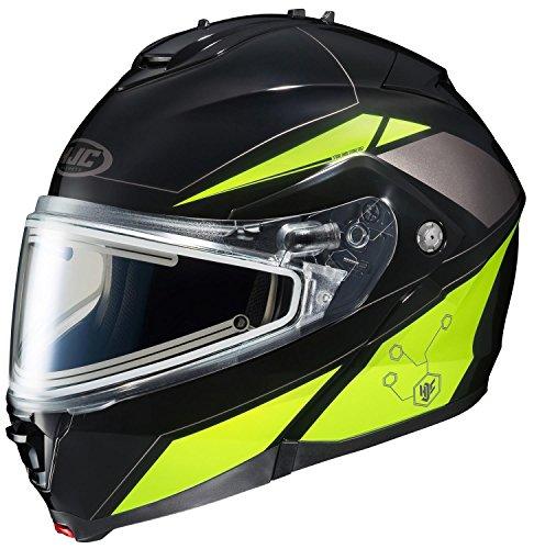 Hjc Helmets Motorcycle Is-max 2 Elemental Frameless Electric Uni Hi-viz Yellow Size Xx-large