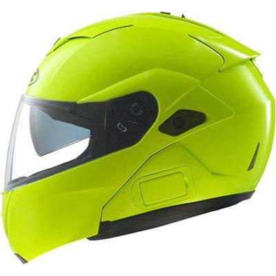 Hjc Hi-viz Men's Sy-max Iii Street Racing Motorcycle Helmet - Hi-visibility Yellow / Large