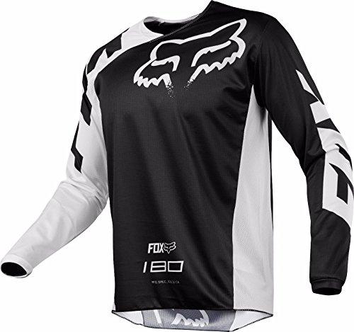 2018 FOX Racing MX Motocross 180 RACE Jersey Black Mens MEDIUM 19426-001-M