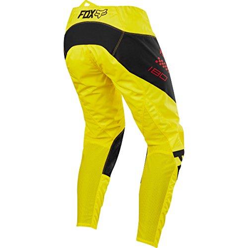 Fox Racing 180 Mastar Mens Off-Road Motorcycle Pants - Yellow  34