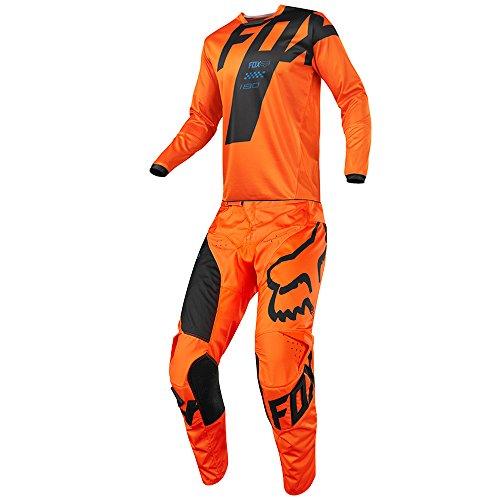 Fox Racing 180 Mastar Orange Jersey Pant Youth Combo - Size Y-SMALL 22W