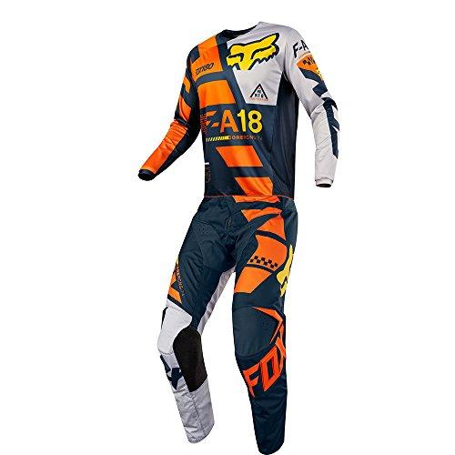 Fox Racing 180 Sayak Orange Jersey Pant Youth Combo - Size Y-LARGE 26W