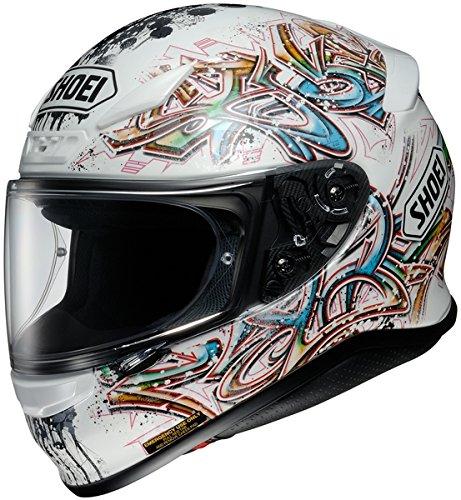 Shoei Graffiti Rf-1200 Street Bike Racing Motorcycle Helmet - Tc-6 / Medium