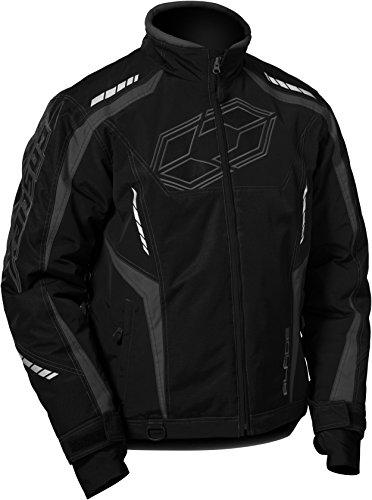 Castle X Blade G3 Mens Snowmobile Jacket - Black XLG