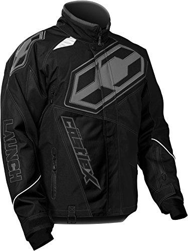 Castle X Launch G4 Mens Snowmobile Jacket - Black - LRG
